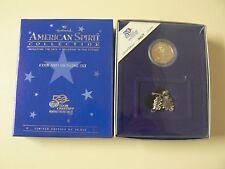 Hallmark American Spirit CONNECTICUT STATE QUARTER Coin & Figurine Set NEW