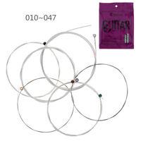Orphee 6 pcs / ensemble cordes de guitare acoustique, noyau hexagonal speci S9S6