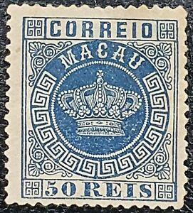 SELLO de Macao 1884-1885