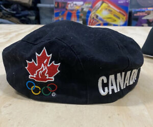 Roots Athletics Canada Olympics Newsboy Hat Cap Adult Size