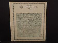 North Dakota Bottineau County Map Cordellia Township  1910 Q6#48