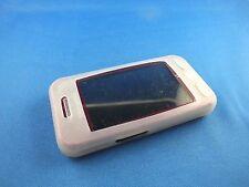 Tasche Hülle Samsung GT S5230 Handytasche Nostalgie Klassik Transparent Weiß TOP