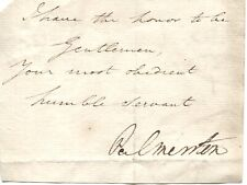 More details for rare palmerston henry john temple 1784-1865 prime minister under queen victoria