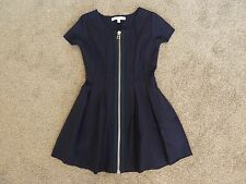 Girls Witchery 8 Fourteen Navy Blue Dress, Size 10