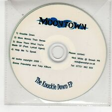 (FU619) Moontown, The Knuckle Down EP - 2009 DJ CD