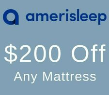 Amerisleep Coupon Code - $200 Off Any Mattress -  Discount Promo