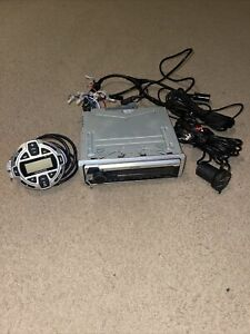 Kenwood KMR-D768BT Marine CD Receiver Built in Bluetooth W/ Remote Control Used