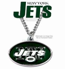 NEW YORK JETS NECKLACE for MALE or FEMALE FOOTBALL SPORTS GIFT - FREE SHIP  #CB*