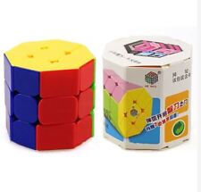 5.7cm Octagonal Column Speed Rubik's Cube Stickerless