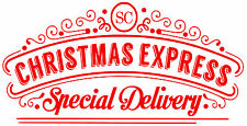 Christmas Sticker Label Tag Seal Gift  - SPECIAL DELIVERY