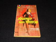 """Gold Medal 710 1957 PBO Peter Rabe """"JOURNEY INTO TERROR"""" VG"""