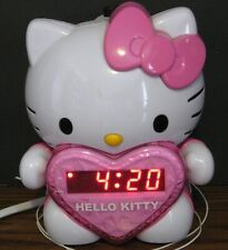 Hello Kitty Projector Alarm Clock AM / FM Radio - KT2064 - Red LED