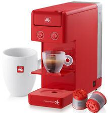Illy Y3 Macchina da Caffè Rosso Espresso e Caffè all'americana 850w +14 Capsule