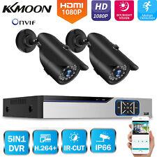 KKMoon 4CH 5In1 DVR 1080P CCTV Outdoor Security IR Camera System Kit Onvif K4P0