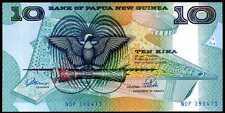 PAPUA NEW GUINEA 10  KINA  (1989-1992) Prefix NDP - P 9b Uncirculated Banknotes