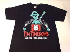 RANCID Tim Timebomb and Friends Skeleton Shirt Machete 2013 Size Medium NEW