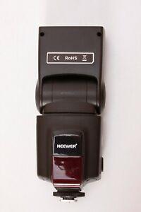 Neewer TT560 Flash Speedlite for Canon DSLR, Manual Flash