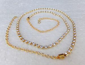 Ethnic Women Fashion Jewelry Hip Waist Belt Belly Chain Golden Indian Kamr Bandh