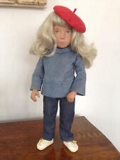 Vintage Sasha Doll With Blonde Hair Blue Eyes Original Outfit