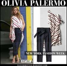 Banana Republic Stripe Layered One-Shoulder Dress,Red stripe SIZE 4   #589815 v5
