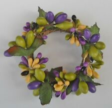 Great Finds Napkin Ring / Candle Ring   -    Purple / Green / Yellow