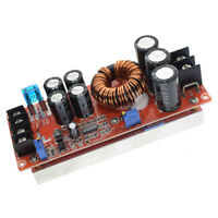 NEW 1200W 20A DC Car Converter Boost 8-60V To 12-83V Step-up Power Supply Module