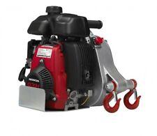 Portable Gas Capstan Winch 2.1 HP, 50cc Honda GHX-50 Engine, 1-Ton Capacity