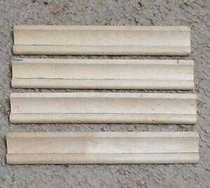 Scrabble Set Of 4 Tile Rack Holders Wooden Game Parts
