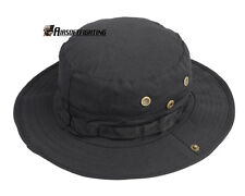 US Marine Military BDU Combat Boonie Cover Hat - Black A