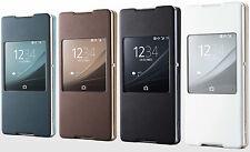 Genuine Sony FLIP CASE EXPERIA Z3+ Z3 PLUS Mobile original cell phone book cover