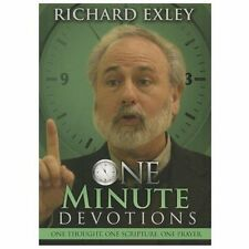 ONE MINUTE DEVOTIONS for 365 Days by RICHARD EXLEY (PAPERBACK) NEW