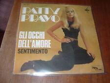 """PATTY PRAVO """"GLI OCCHI DELL'AMORE - SENTIMENTO """" ITALY'68"""