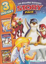 ANGELO + SCAMPER Le pingouin + Mon Petit RENNE - 3 Grandes Histoires en 1 DVD