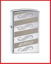 Zippo Windswept Lighter, 24456 +Wick +Flints