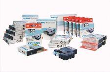 5 CINTAS DYMO D1 12MM X 7 MT LETRA BLANCA / FONDO TRANSPARENT REF S0720600