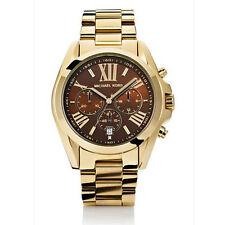 Nuevo MK5502 Oro Cronógrafo Bradshaw Michael Kors Reloj - 2 Año De Garantía