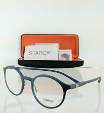 Brand New Authentic Starck Eyes SH 2032 0005 49mm Blue Frame 2032