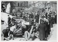 Beutestücke werden ausgestellt, Orig-Pressephoto, um 1940