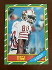 Jerry Rice 1986 Topps Football NFL Rookie Card RC #161 NMT