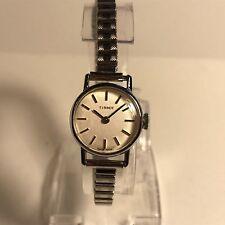 Vintage Tissot Chrome/Steel Mechanical Women's Watch on Fixo Flex Bracelet