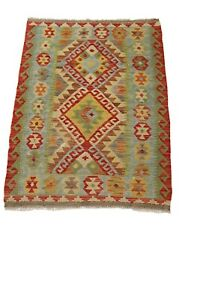 Afghan Kilim Rug, Flat Weave Kilim, Wool Kilim, Hand Woven Afghan Chobi Kilim