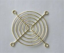 80mm Fan guard Cover GRILL (Golden Color)
