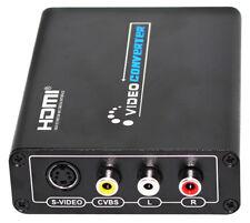 HDMI to AV S-Video CVBS Video Converter HDMI to SVIDEO+S VIDEO Switcher Adaptor