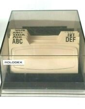 Rolodex Desk Top Office Card Organizer For Personal Or Business 6 X 4 12