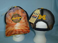 MICHIGAN WOLVERINES  Brilliant Mesh Snapback CAP/HAT One Size Fits All NWT $25