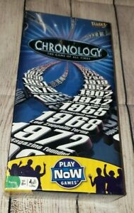 2009 Fundex 'Chronology' The Game of all Times Family Card Game NEW SEALED 8+