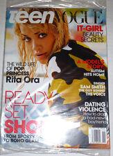 Teen Vogue Magazine Rita Ora & Sam Smith November 2014 SEALED 120414R2