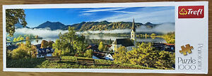 NEW! Trefl 1000 Piece Panorama Jigsaw Puzzle 'By the Schliersee Lake'