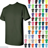 Gildan Cotton T-Shirt Short Sleeve Solid Tee S, M, L, XL, 5.3 oz,  Style #5000