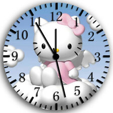 Pink Hello Kitty Frameless Borderless Wall Clock Nice For Gifts or Decor W173